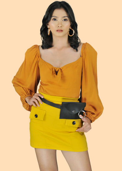 Moira Skirt - Yellow