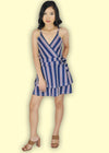 Stasia Dress - Blue