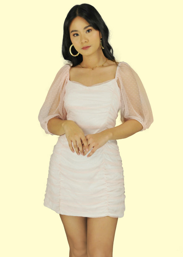 Lily Dress - Light Pink