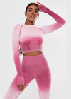 Via Activewear Set - Hot Pink