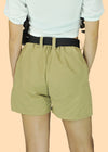 Glenn Shorts with Belt - Beige