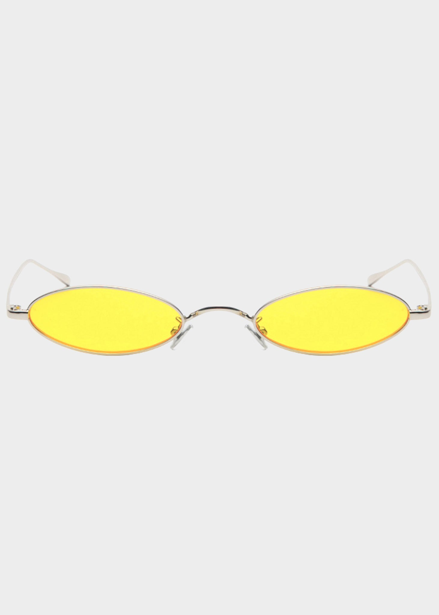 8d9b0c3d7e ... Yellow Small Lens Oval Sunglasses