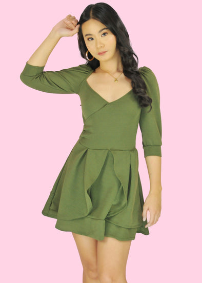 Lara Dress - Green