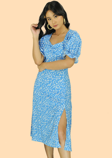 Kyra Dress - Blue