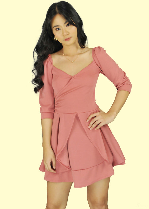 Lara Dress - Old Rose