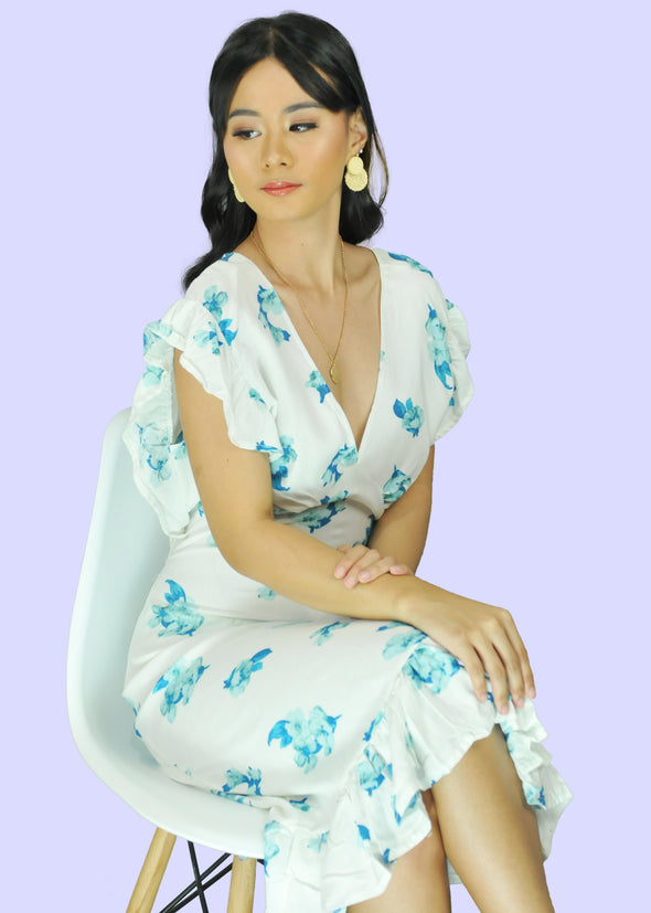 Zandra Dress - White