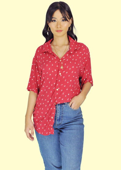 Clarissa Top - Red
