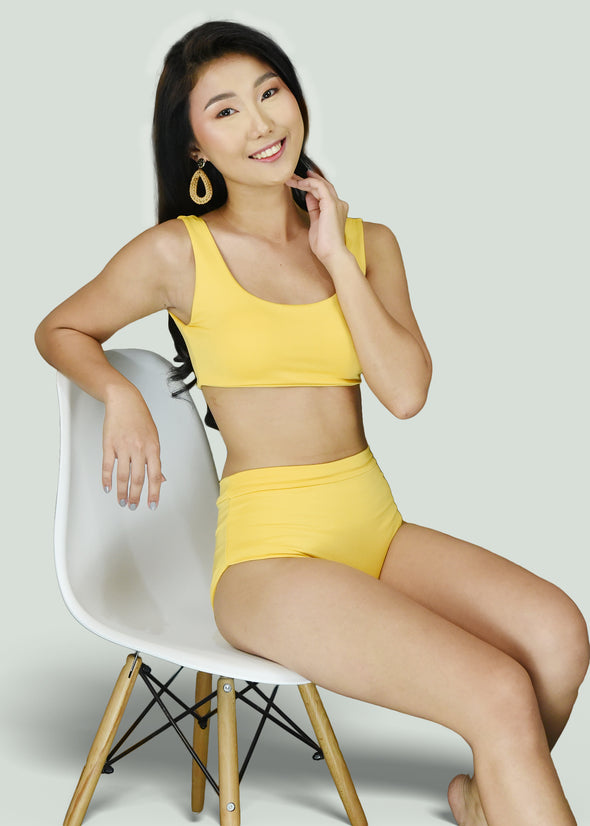 Dina Two Piece - Yellow
