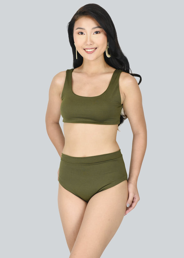 Dina Two Piece - Army Green