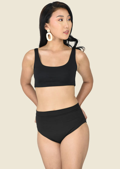 Dina Two Piece - Black
