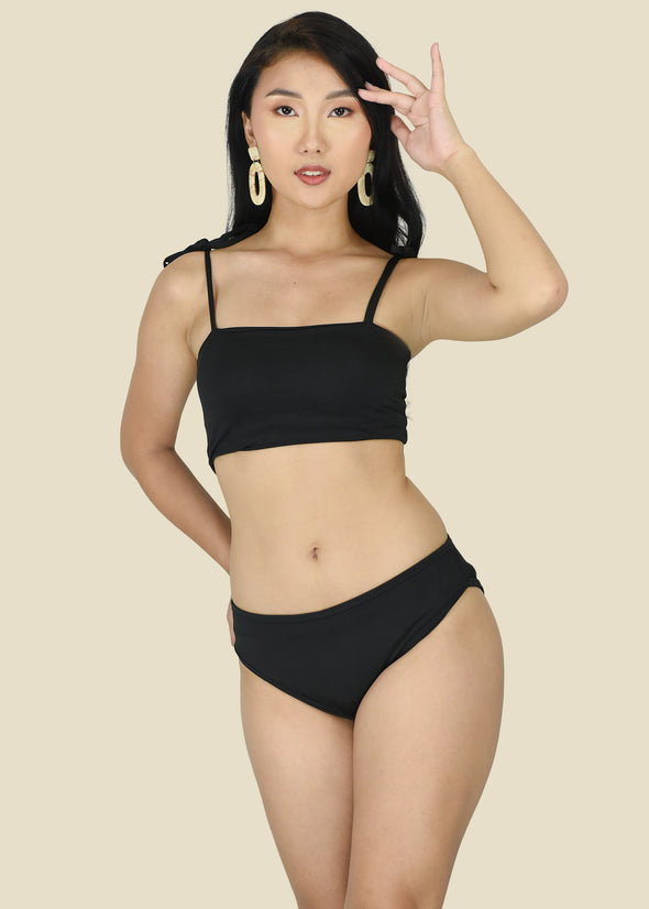 Clea Two Piece Swimwear - Black