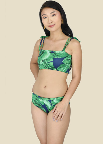 Eliza Two Piece Swimsuit - Blue Green