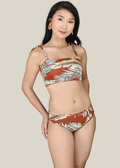 Eliza Two Piece Swimsuit - Rust
