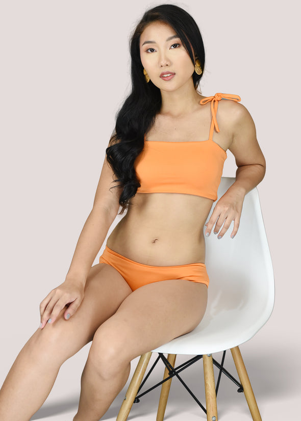 Clea Two Piece Swimwear - Orange
