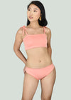Clea Two Piece Swimwear - Pink
