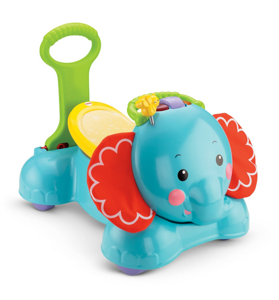 3-in-1 Bounce, Stride and Ride Elephant
