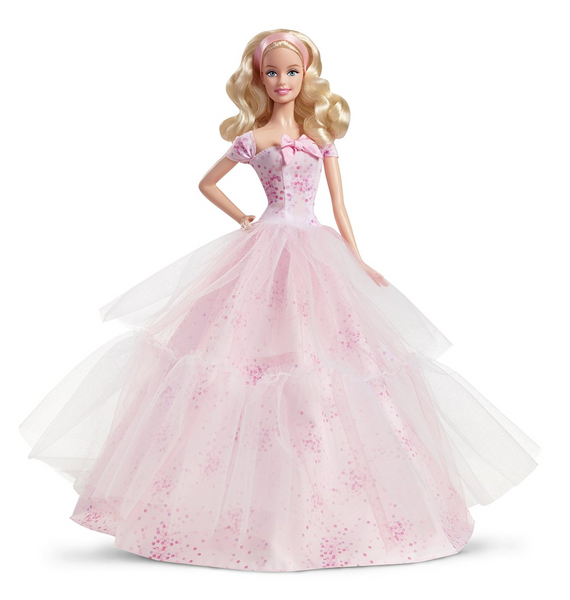 Birthday Wishes 2016 Barbie Doll, Blonde