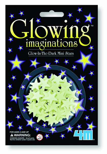 5143 Glow-In-The-Dark Mini Stars - Pack of 60