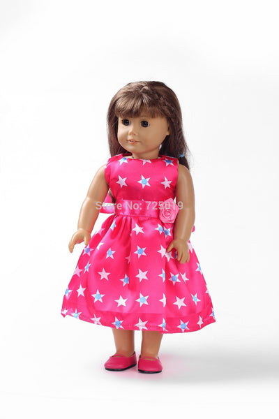 18 inches American girl doll clothes/dress b134