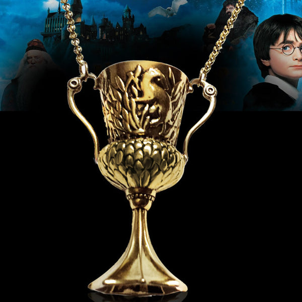 HARRY POTTER and The Goblet of Fire Hufflepuff's Cup Pendant