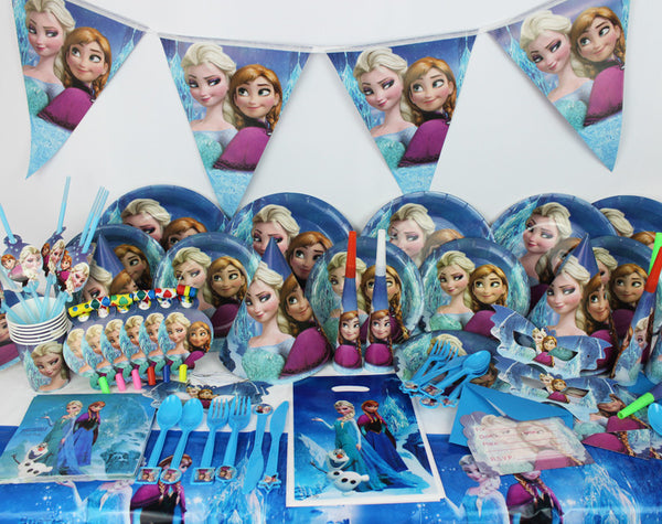 Frozen 78pcsBirthday Party Supplies