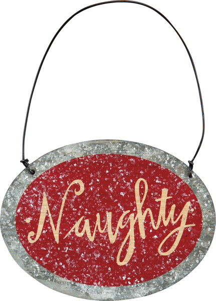 Ornament - Naughty