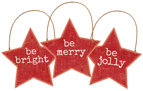 Ornament Set - Be Jolly