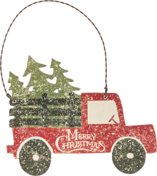 Ornament - Tree Truck