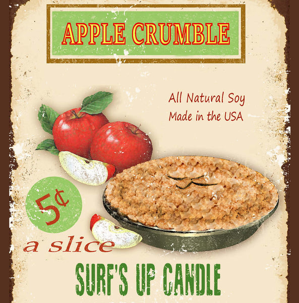 Apple Crumble Vintage Jar Candle