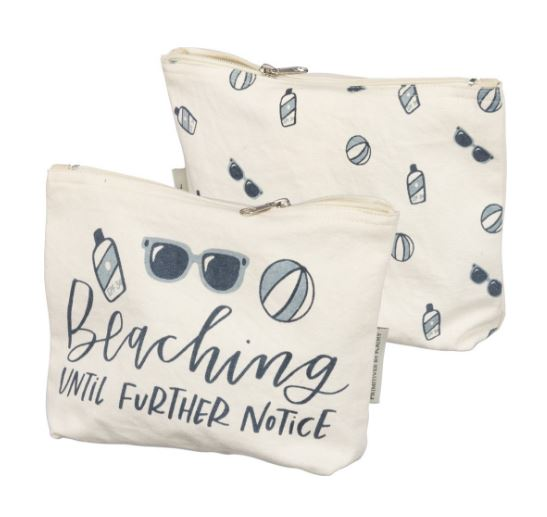 Beaching Until Further Notice Zippered Pouch