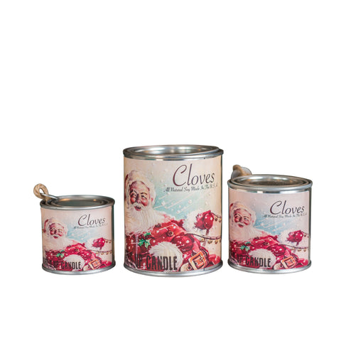 Cloves Paint Can Candle