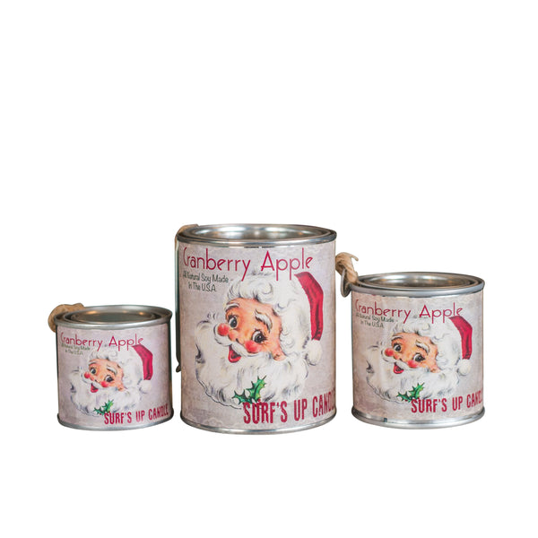 Cranberry Apple Paint Can Candle