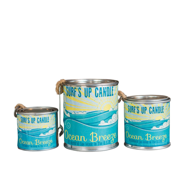 Ocean Breeze Paint Can Candle