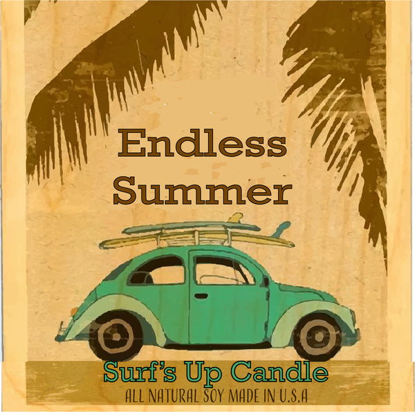 Endless Summer Vintage Mason Jar Candle