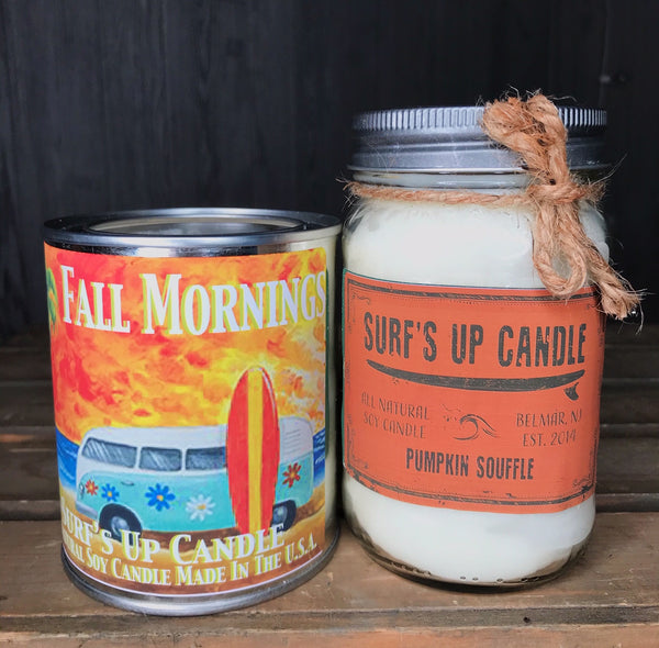 Pumpkin Souffle Jar and Fall Morning Paint Can Set