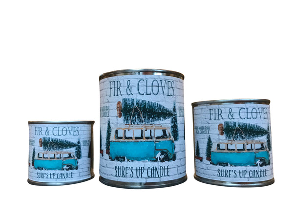 Fir & Cloves Paint Can Candle