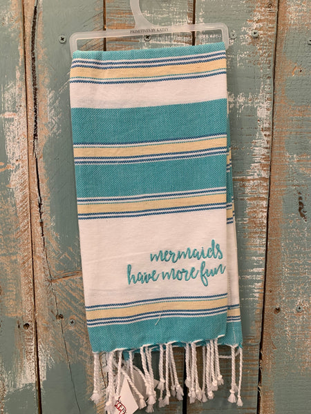 Mermaids Fun Towel