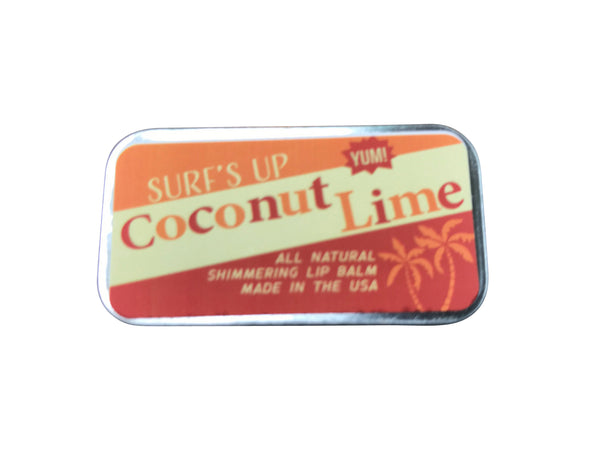 Coconut Lime Shimmering Lip Balm