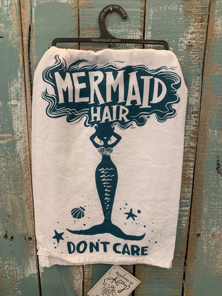 Mermaid Hair Towel