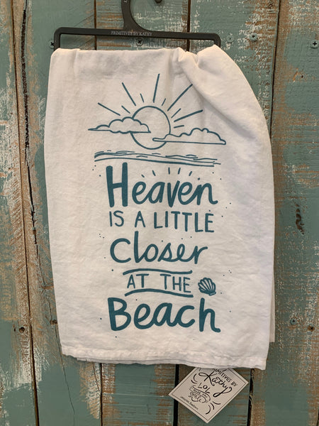 Heaven Closer at Beach Towel