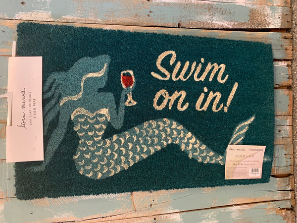 Swim On In Doormat