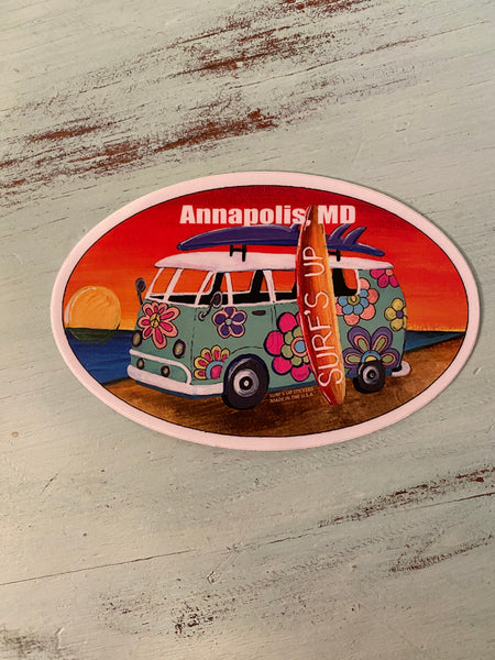 Hippe Van Sticker - Annapolis MD