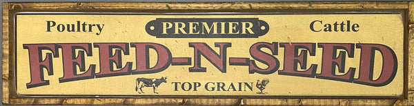 Feed and Seed Sign