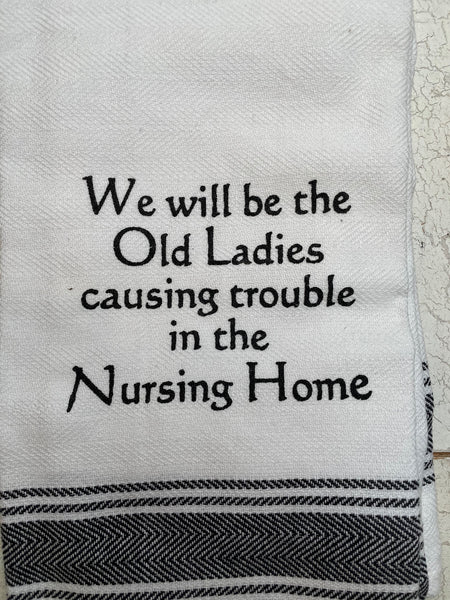 Nursing Home Towel