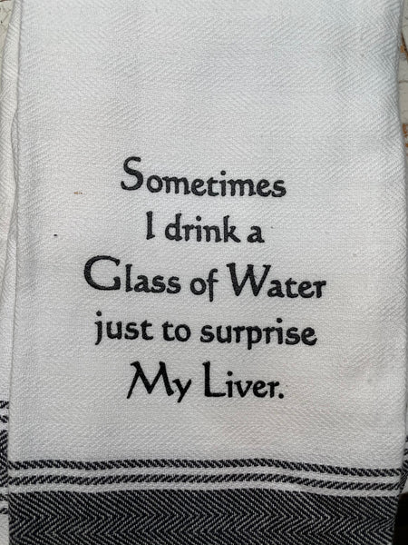 My Liver Towel