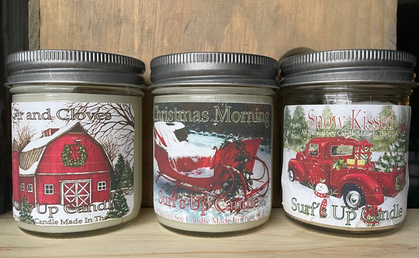 Christmas Starter 8oz Jar Set