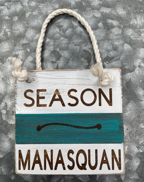 Blue Beach Badge - Manasquan