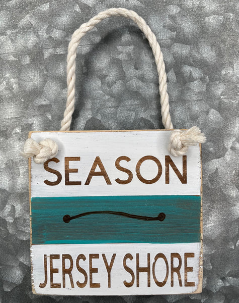 Blue Beach Badge - Jersey Shore