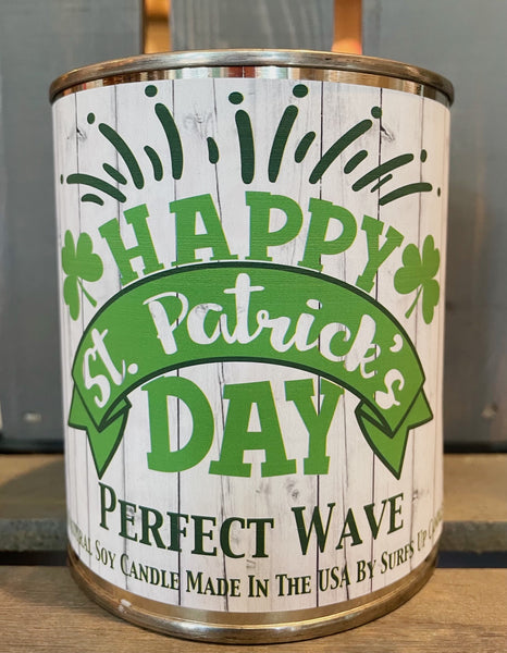Perfect Wave Paint Can - Happy - St. Patrick's Day