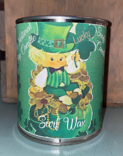 Surf Wax - Leprechaun - St. Patrick's Day - Paint Can